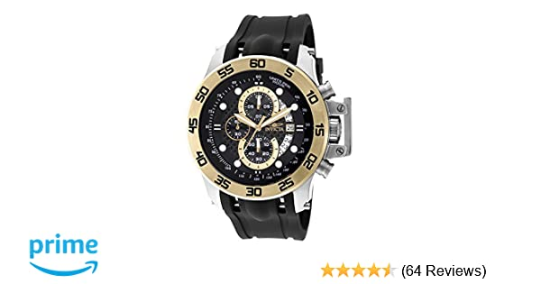 Amazon.com: Invicta Mens 19253 I-Force 18k Gold Ion-Plated Stainless Steel Watch: Invicta: Watches