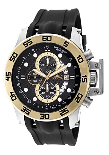 Invicta Men's 19253 I-Force 18k Gold Ion-Plated Stainless...
