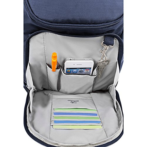 Travelon Anti-Theft Classic Backpack - Exclusive Colors (Lush Blue - Exclusive