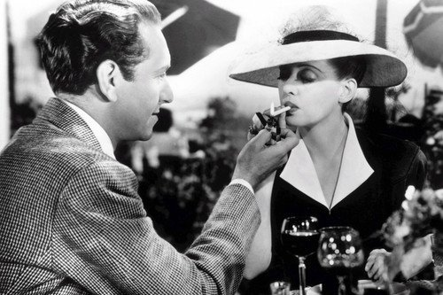 - Now Voyager Henreid Lighting Bette Davis Cigarette B/W 11x17 Mini Poster