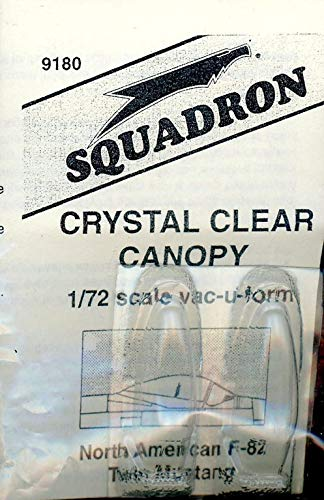 Squadron 1:72 American F-82 Twin Mustang Clear Canopy for sale  Delivered anywhere in USA