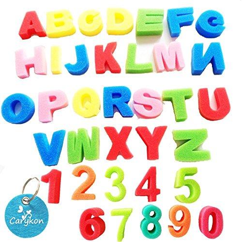 Carykon Artist Studio Alphabet amp Numbers Sponges Model 36 PCS