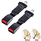 2 Pack Belt Extension (7/8 inch Metal Tongue) for