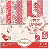 "CrafTreat Paper Pack - Ever Yours 6""X6"""