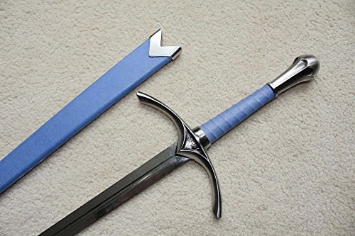 AIT Collectibles S4875 Movie Lord of The Rings Hobbit GLAMDRING Gandalf Sword Blue Scabbard 26