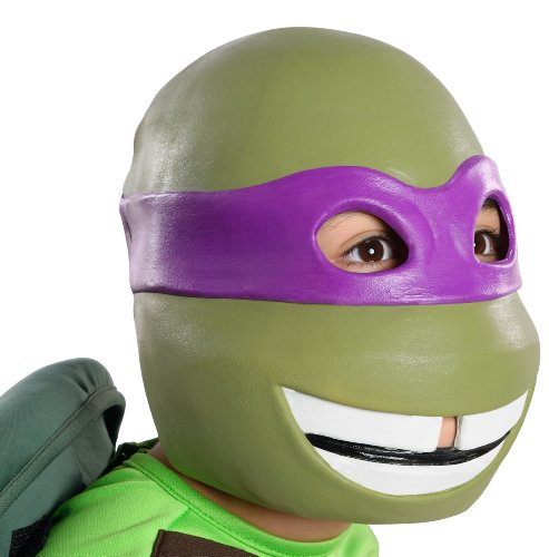 [Teenage Mutant Ninja Turtles Donatello 3/4 Mask] (Blue Bull Mascot Costume)