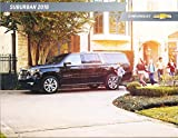 2016 Chevrolet Suburban 28-page New Car Sales Brochure Catalog