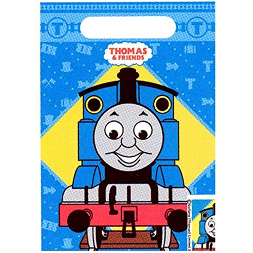 (Thomas All Aboard Folded Treat Sack Party Supplies)