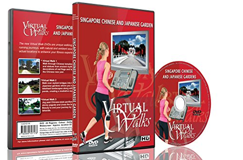 Virtual Walks - Chinese & Japanese Gardens for indoor walking, treadmill and cycling - Sunglasses Japanese