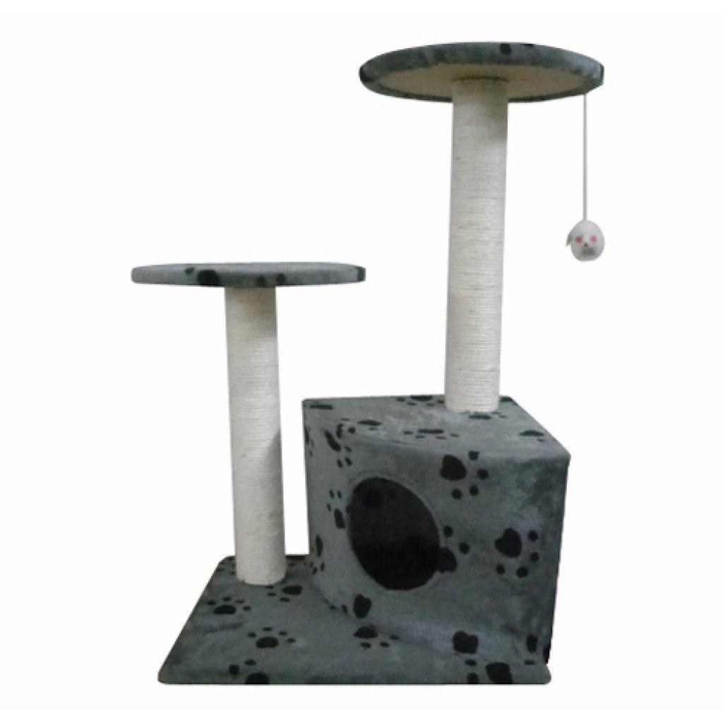 Festnight Casita Rascador para Gatos Escalador para Gatos 34 x 34 x 25 cm: Amazon.es: Electrónica