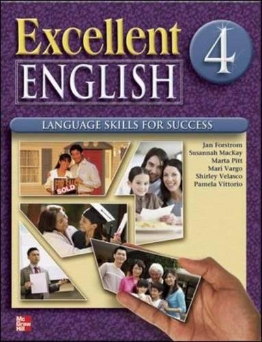 Excellent English Level 4 Student Book with Audio Highlights and Workbook with Audio CD Pack: Language Skills For Success
