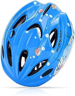 SLONG Casco de Bicicleta para niños-Deportes Equipo de ...
