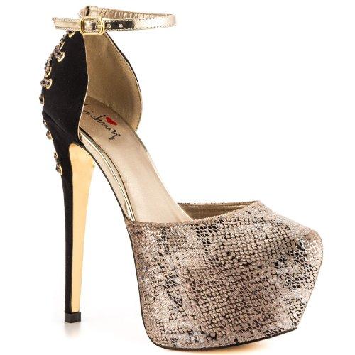 Luichiny Women's MAY LYNN Dress Shoe (8) -