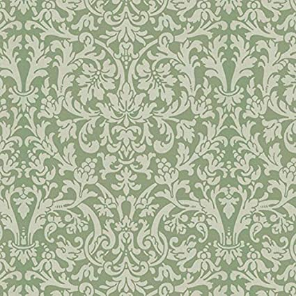 Cream Damask Dollhouse Curtains 1:12 scale