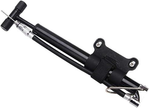 Lumpna Bike Air Pump Bicycle Skid-Proof Portable Manual Air Pump ...