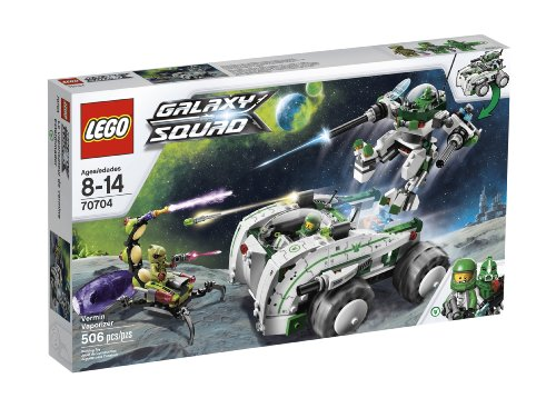 with LEGO Alien Conquest design
