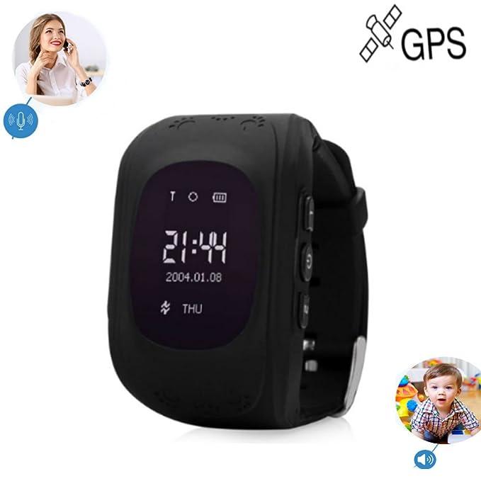 TKSTAR Rastreador de GPS/gsm Reloj para niños los niños ...