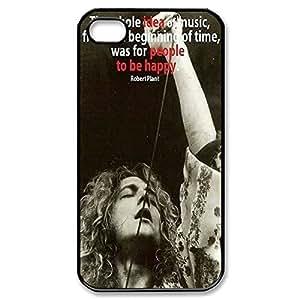 Elegant Design Hard Case Back Cover Case Led Zeppelin for iphone 5 5s 4G -Black030906