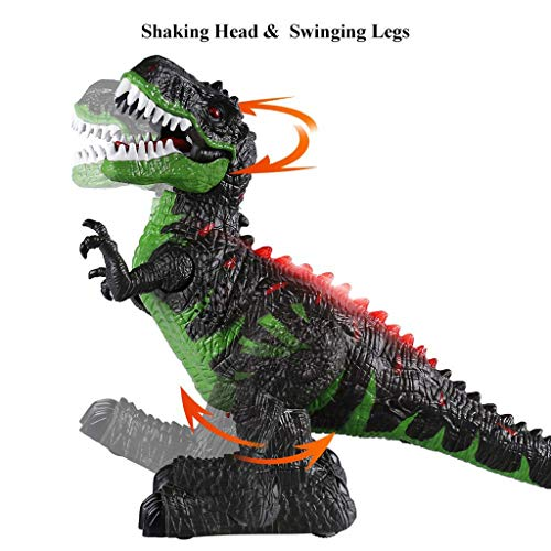 Kids Interactive Walking Dinosaur Glowing and Music Children's Educational Toy - Car Gator Control Remote