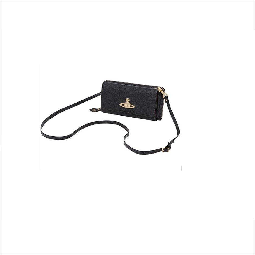 ヴィヴィアンウエストウッド Vivienne Westwood 財布 長財布 EXECUTIVE スマホケース付 長財布 B079QGP9H4  ブラック