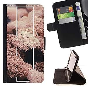 For Samsung Galaxy A5 ( A5000 ) 2014 Version Case , Coral Sea Life Naturaleza Pez Submarinismo- la tarjeta de Crédito Slots PU Funda de cuero Monedero caso cubierta de piel