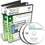 WordPress and Affiliate Marketing Tutorial Course on 2 DVDs Software Training