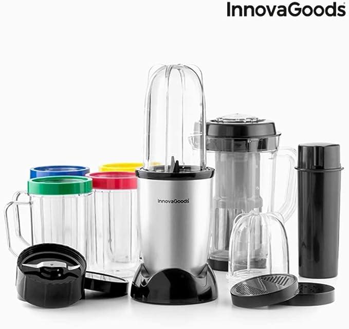 InnovaGoods IG114765 Licuadora batidora de vaso, 250 W, Gris ...