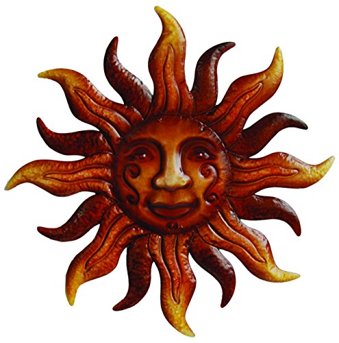 Arcadia Garden Products WA10 Wall Art Sunface by Arcadia Garden Products