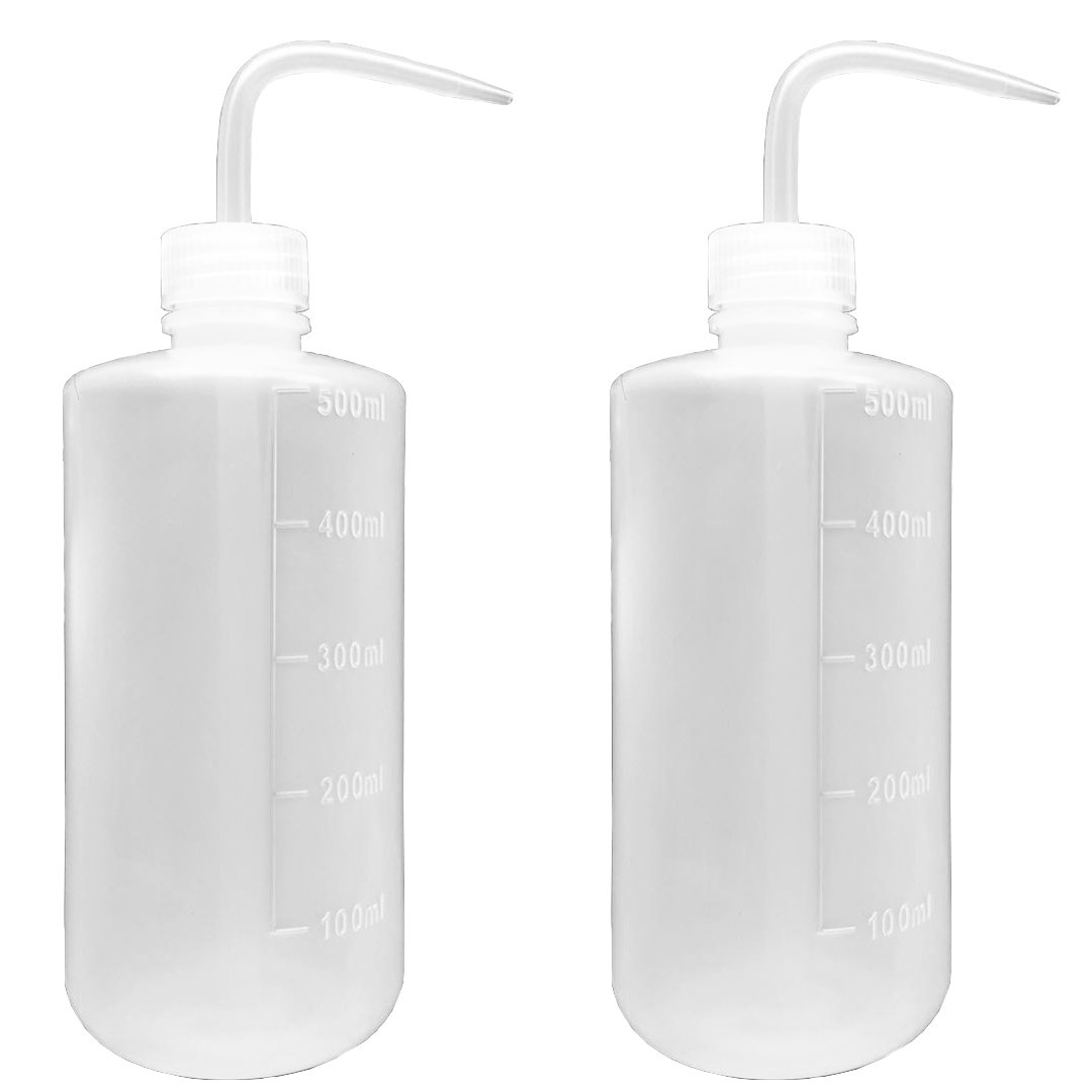 Seguridad Wash Botella, Squeeze botella, estrecho boca, plá stico (500  ml/16oz/2  botella) plástico (500 ml/16oz/2 botella) Muhwa eCommerce Co. Ltd