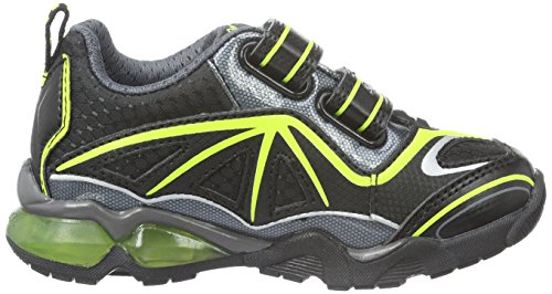 black Boy J Light Zapatillas Geox limec0802 2 Eclipse Schwarz A Para Niños pIvnw7