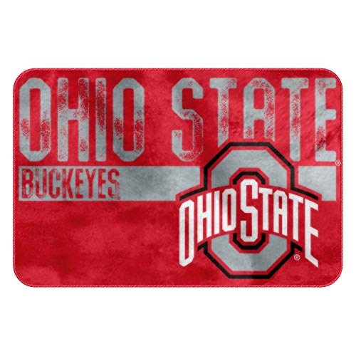 The Northwest Company NCAA Ohio State Embossed Memory Foam Rug, One Size, Multicolor (Ohio State Bathroom)