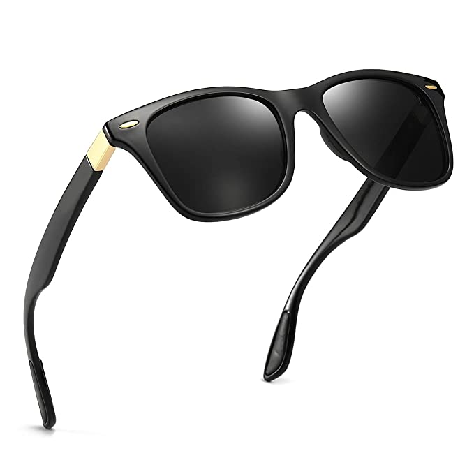 Amazon.com: Gafas de sol polarizadas de diseño clásico para ...