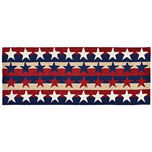 Area Rugs - Patriotic Stars and Stripes Indoor Outdoor Rug - 24