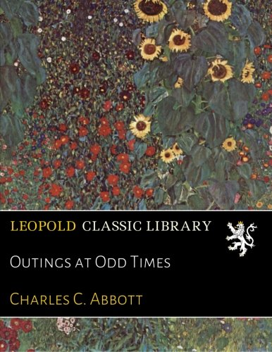 Download Outings at Odd Times pdf
