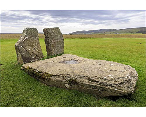 robertharding 10x8 Print of The Central Stones, Stones of Stenness, Neolithic Stone Circle, 5000 (18844532)