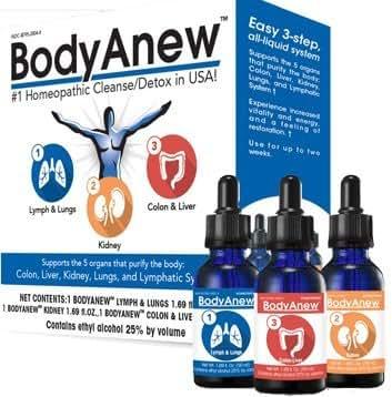 MediNatura, BodyAnew Cleanse Oral Drops 1 kit