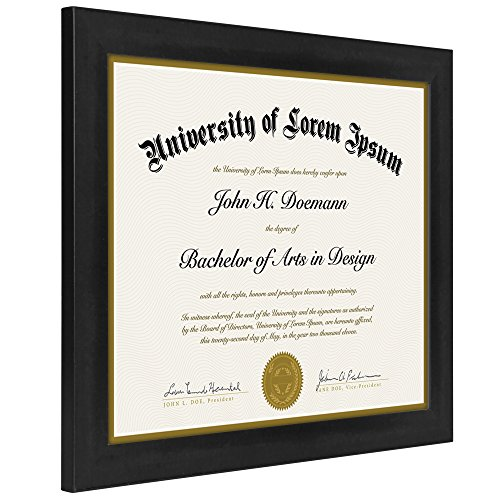 document frame made to display certificates 8511 inch document frames certificate frames standard paper frame - Document Frames 85 X 11