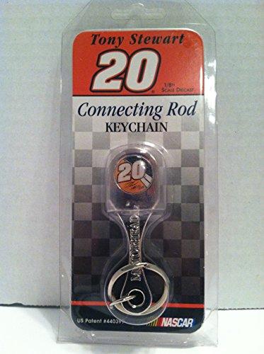 Connecting Rod Bottle Opener Keychain - #20 Tony Stewart Connecting Rod Bottle Opener Keychain