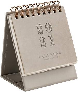Stand Up Desk Calendar 2021 Amazon.: 2020 2021 Desktop Calendar Monthly Calendar Stand Up