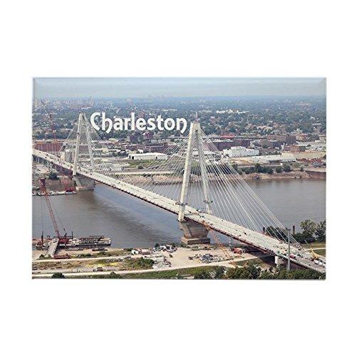 (CafePress Charleston Rectangle Magnet, 2