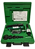 Greenlee 7306SB Ram and Hand Pump Hydraulic Driver Kit with 6 Slug Buster Punches