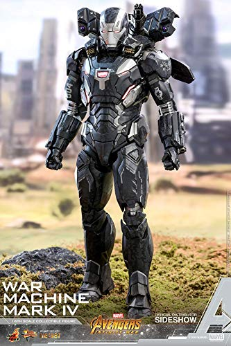 Hot Toys War Machine Mark IV Avengers Infinity War Movie Masterpiece Series Diecast 1/6 Sixth Scale Special Exclusive Edition Iron Man WarMachine Mark 4 Figure [w/ Bonus Part] : Outrider Diorama