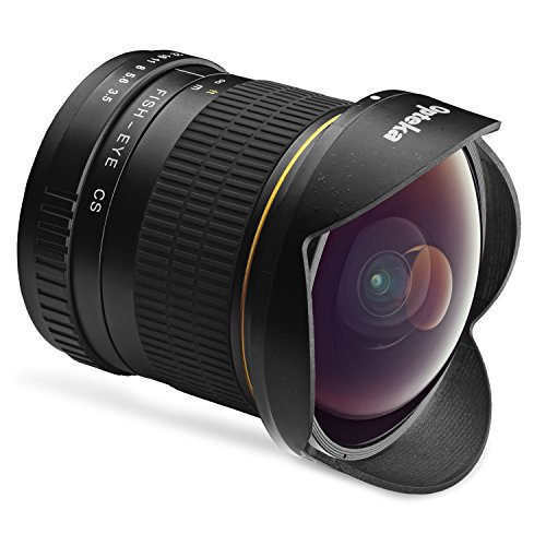 Opteka 6.5mm f/3.5 Fisheye Lens for Nikon D7500, D7200, D7100, D7000, D5500, D5300, D5200, D5100, D3400, D3300, D3200 and D3100 Digital SLR Cameras (Best Wide Angle Lens For D7000)