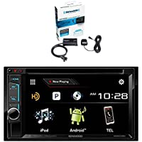 Kenwood DDX574BH DVD Receiver and Sirius SXV300v1 Vehicle Satellite Radio Tuner