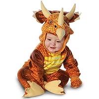 Traje de disfraz de bebé Triceratops disfraces, verde, medio (18 - 24 meses)