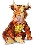 Underwraps Costumes Baby's Triceratops Costume Jumpsuit, Rust, Medium (18 - 24 Months)