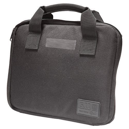 5.11 Tactical Single Pistol Case, Black, One Size