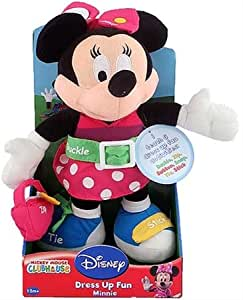 Amazon Com Minnie Mouse Dress Up Fun Doll Toys Amp Games