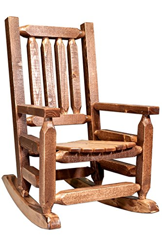 Montana Woodworks MWHCKRSSLAZ Child's Chair, Stain and Lacquer Finish by Montana Woodworks