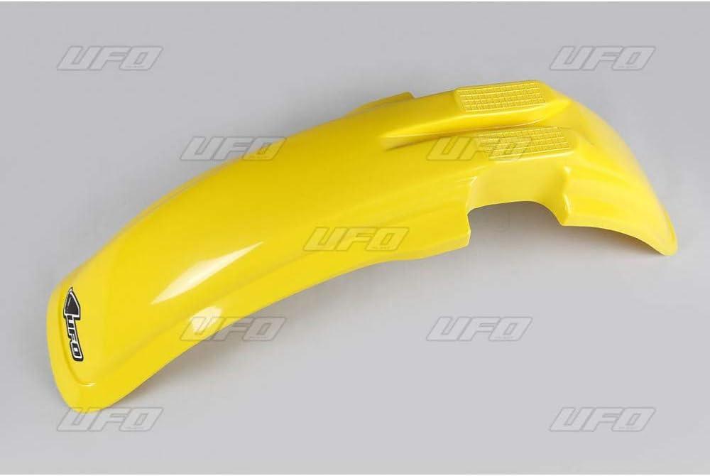 Suzuki Rm 125//250 1987-1988 amarillo. Guardabarros delantero de UFO